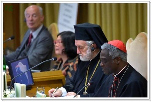 Lançamento da encíclica Laudato Si', Vaticano, 18 de junho de 2015