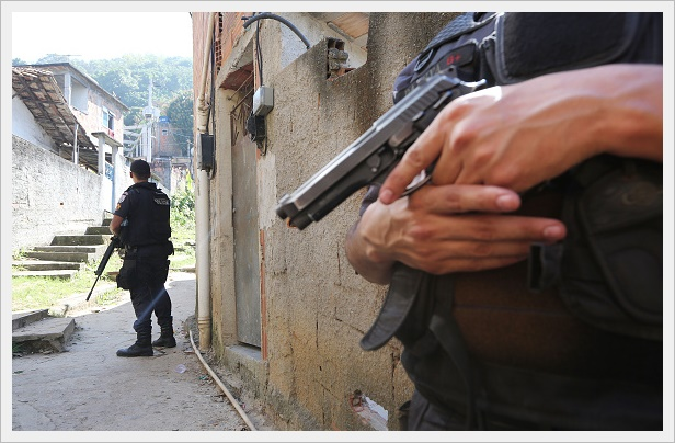 Pacifying Police Units Patrol Rio Favelas Ahead Of Olympic Games